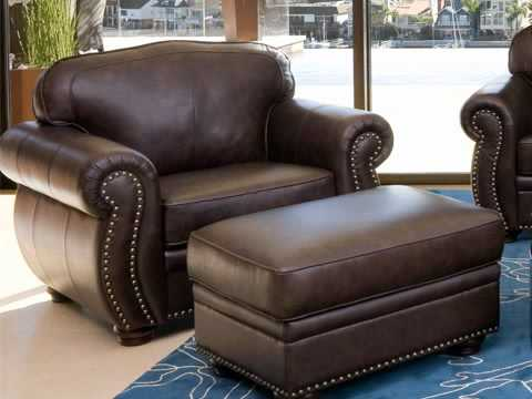 Coachella Dark Brown Italian Leather Sofa Set By Abbyson Living   YouTube