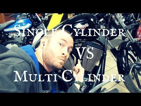 Single Cylinder Motorcycles VS Multi Cylinder Motorcycles