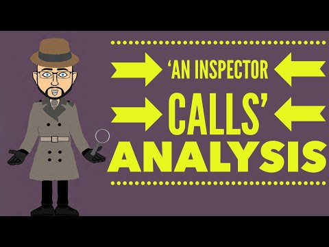 an inspector calls analysis Category: papers title: character study of mrbirling from an inspector calls by priestley.