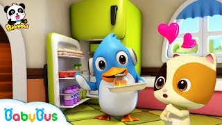 Rudolph Makes Desserts with Daddy | Magical Chinese Characters | Hero Daddy | Baby Songs | BabyBus
