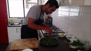Healthy Eats | Roasted Cauliflower And Kale Salad