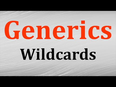 Generics in Java tutorial # 5 - Wildcards and subtyping in G