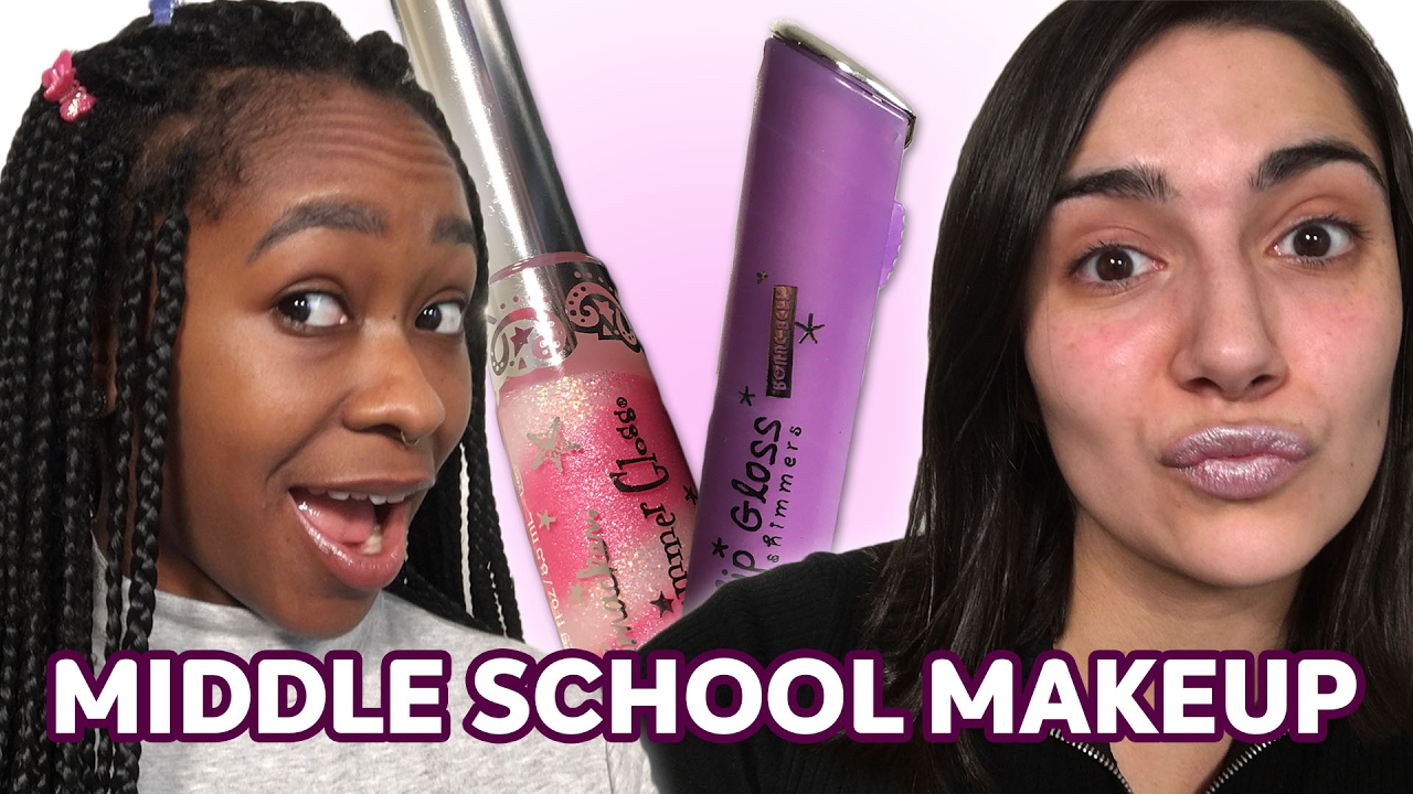 How We Did Our Makeup In Middle School Saf Freddie Youtube