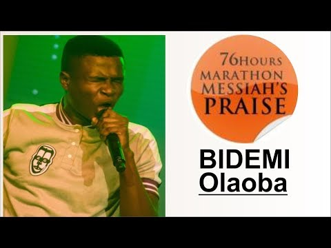 Bidemi Olaoba POWERFUL Praise @ 76 HOURS RCCG MARATHON MESSIAH'S PRAISE 2018