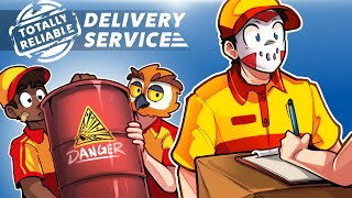 Totally Reliable Delivery Service - HERE'S YOUR PACKAGE! (A New Funny, Derpy & Chaotic Game!)