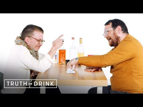 A Gay Divorced Couple Play Truth or Drink | Cut