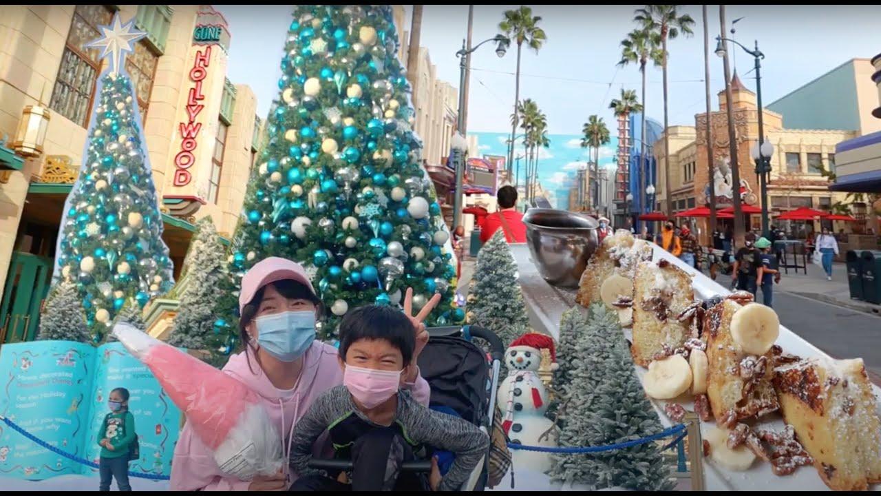 週末Vlog|去迪士尼樂園感受聖誕氛圍吃美食結果超失望...疫情中迪粉還是超狂熱!