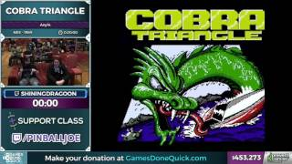 Cobra Triangle by shiningdragoon in 19:06 - Awesome Games Done Quick 2017 - Part 72
