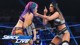 IIconics vs. Kabuki Warriors - WWE Women's Tag Team Championship, SmackDown LIVE, July 16, 2019