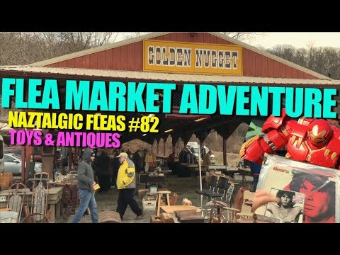 FLEA MARKET & THRIFT ADVENTURE #82 Hunting, Selling Toys & Antique collectibles