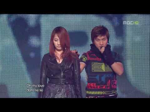 (MV)韓國 Wonder Girls + big bang - Nobody-Tell Me+謊言