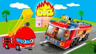 Мультики про машинки! Пожарные машины в новом развлекательном видео для детей.