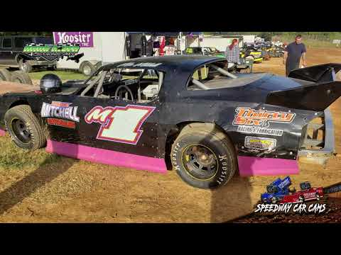 #M1 Mike Mitchell - Pure Stock - 10-13-18 Duck River Raceway Park - In Car Camera