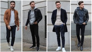 4 Easy Outfits for Men | MEN'S OUTFIT INSPIRATION LOOKBOOK | Alex Costa
