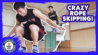 Akitoshi Moriguchi: Skipping Master! - Meet The Record Breakers Japan
