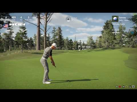 Golf Club 2 - 207 yard in the hole!