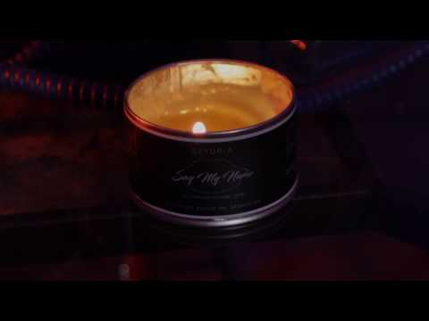 Say My Name Aromatherapy Massage Candle (Official Commercial)