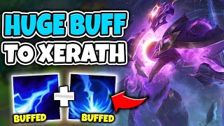 XERATH GOT A HUGE DAMAGE BUFF!! Q AND W BOTH NUKE NOW - League of Legends