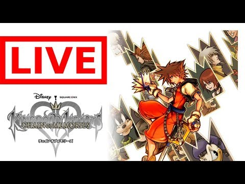 Kindom Hearts Chain of Memory's stream 4 Can we finish it today?