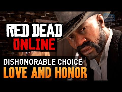 Red Dead Online - Mission #1 - Love and Honor (Dishonorable) [Gold Medal]