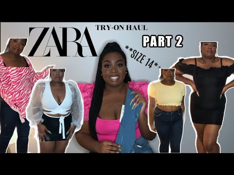 Download HUGE ZARA TRY ON HAUL! **SIZE 14** SALE & NEW ITEMS *2020* (part 2)