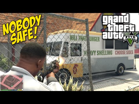 CAUSING CHAOS ON THEY ASS! [pause] [GTA 5]