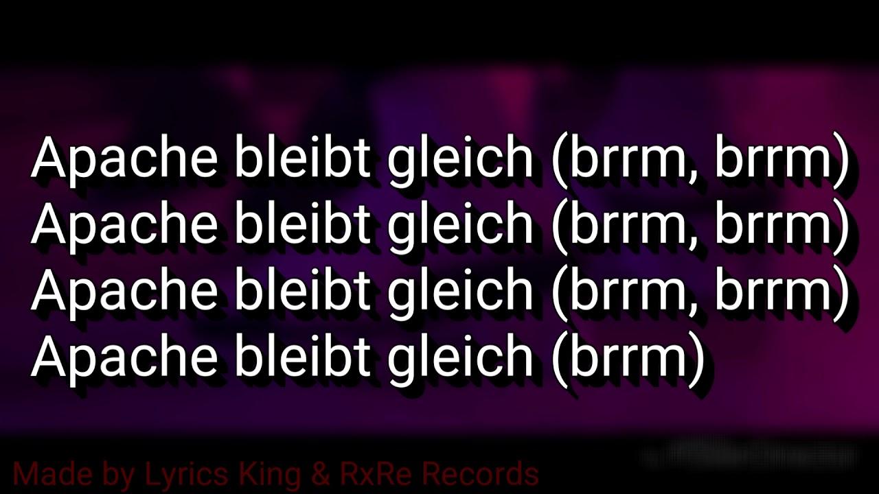 apache 207 roller songtext