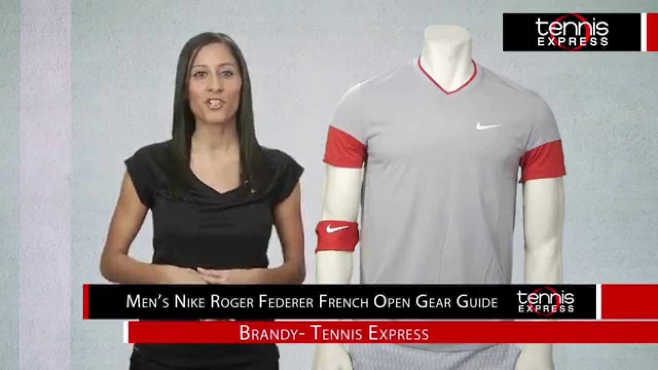 Roger Federer 2014 French Open Gear Guide Tennis Express Youtube