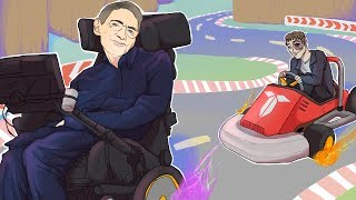 Mario Kart 8 Rage-Fest - Stephen Hawking Racing (Terroriser vs Nogla vs Wildcat vs Panda vs Ohm)