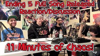 Yu-Gi-Oh VRains: Ending 5 Full Song REACTION! (Are you Ready by BiS)