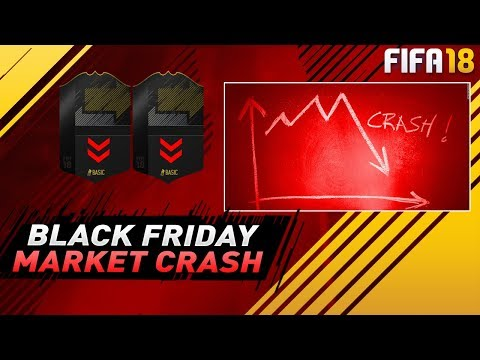 FIFA 18 BLACK FRIDAY MARKET CRASH -EASY TRICK TO MAKE FREE COINS - HOW TO SELL EXPENSIVE & BUY CHEAP