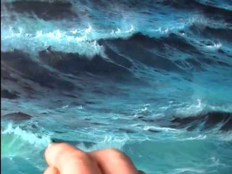 3d Flower Mural Wallpaper How To Paint Foam An Oil Painting Demonstration By Alan