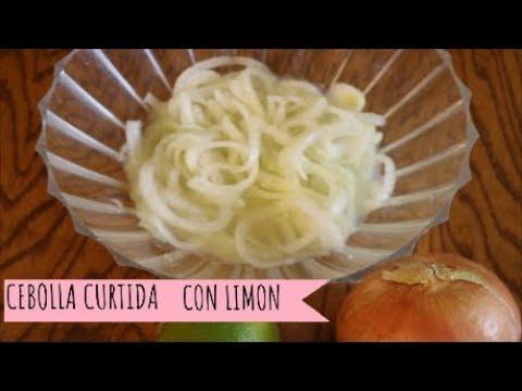 Para porner la cebolla roja con limon y que mas Como Hacer Cebolla Con Limon O Cebolla Desflemada Tacos Tatemado Tostadas Sopes Youtube