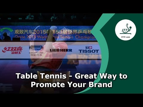 Table Tennis - Great Way to Promote Your Brand (v2017)