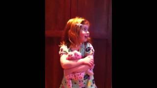 Maggie singing Dylan