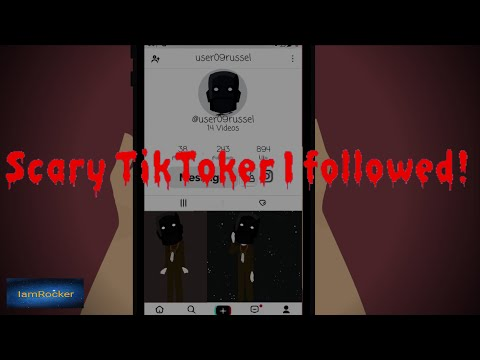 Scariest Tiktoker I Followed - Scary Story Animated