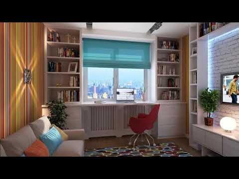 Интересные идеи шкафов вокруг окон в вашем интерьере