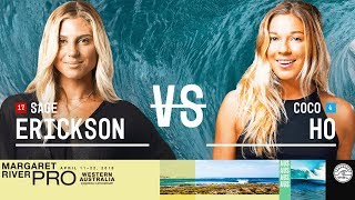 Sage Erickson vs. Coco Ho - Round Two, Heat 1 - Margaret River Women's Pro 2018