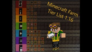 Tier List of All Minecraft Farms 1.16!