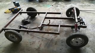 Tự chế xe oto bằng động cơ xe máy