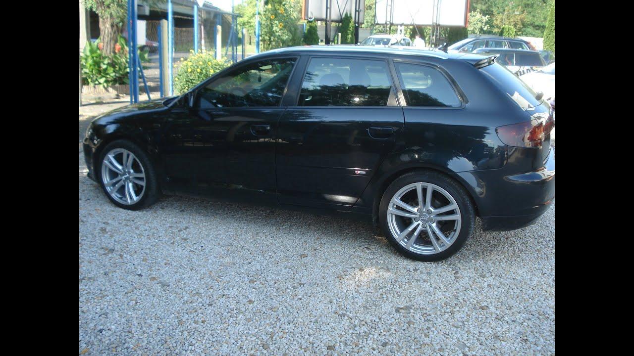 Audi A3 S-Line - Eladó használt autó - YouTube