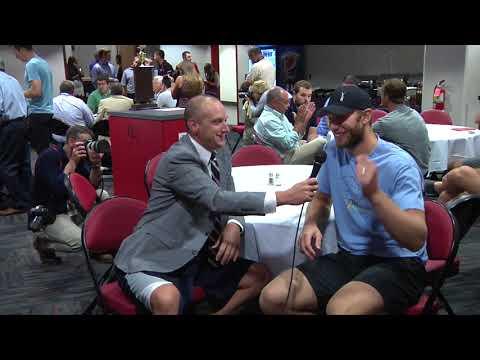 2017 Hurricanes Media Day: Jordan Staal