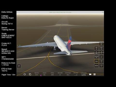 OMDB-(ENSB)*BIKF Boeing 787-8/ Infinite Flight