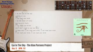 Eye In The Sky - The Alan Parsons Project Guitar Backing Track with chords and lyrics