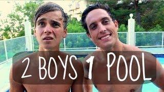 2 BOYS 1 POOL