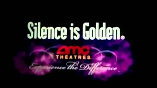 AMC Theatres Silence is Golden intro