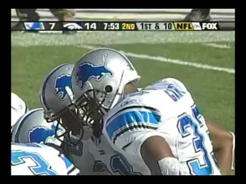 Olandis Gary carries vs Denver Broncos 2003