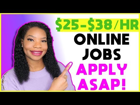 💻 2 High-Paying Work-From-Home Jobs Now Hiring! | Online, Remote Work-At-Home Jobs January 2020