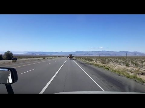 BigRigTravels LIVE! Mountain Pass to Barstow, California Interstate 15 South-Feb. 28, 2018