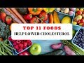 Top 11 Foods Help Lower Cholesterol - Drop Cholesterol Naturally